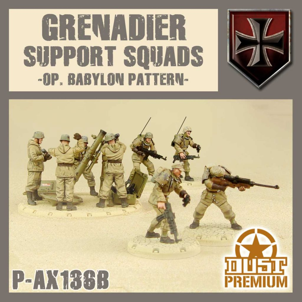 Grenadier Support Squads - DUST