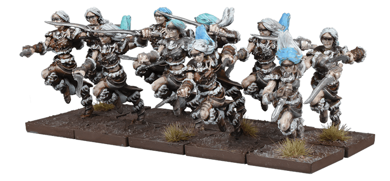 Half Elf Berserkers - Mantic Games