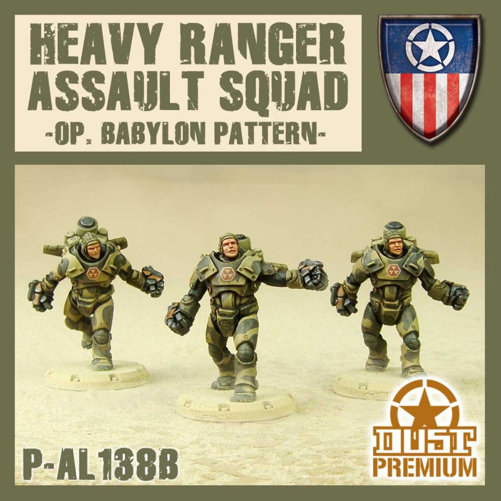 Heavy Ranger Assault Squad - DUST