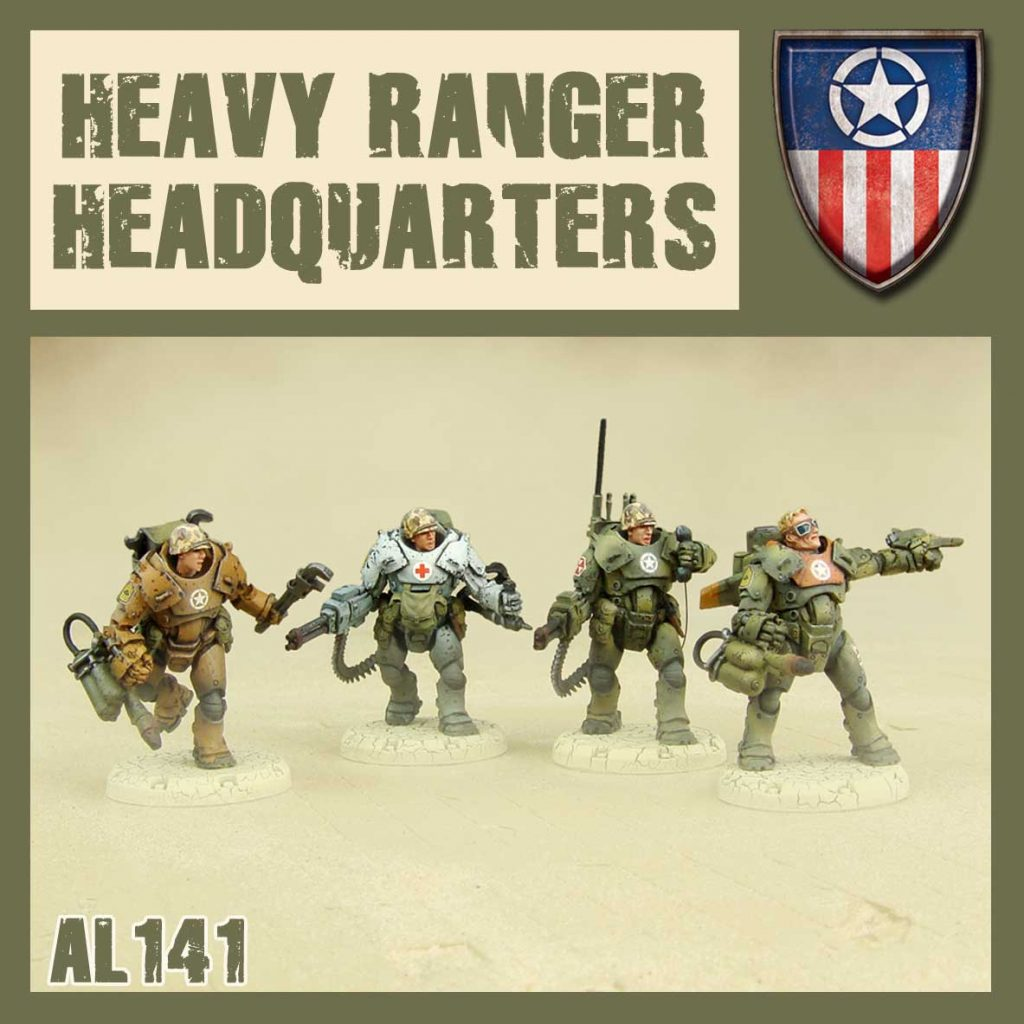 Heavy Rangers Headquarters - DUST
