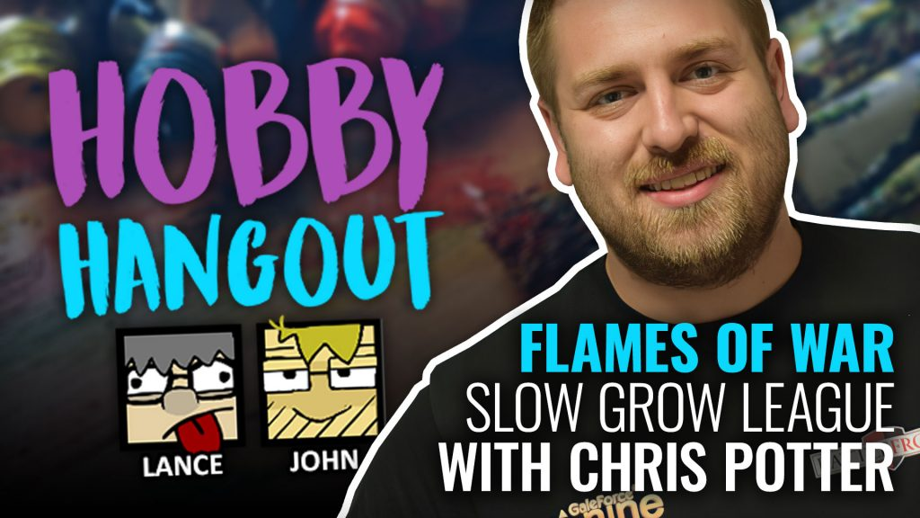 Hobby Hangout Live OnTableTop With Chris Potter From Battlefront