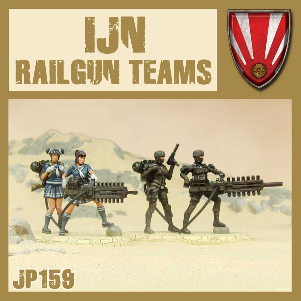 IJN Railgun Teams - DUST
