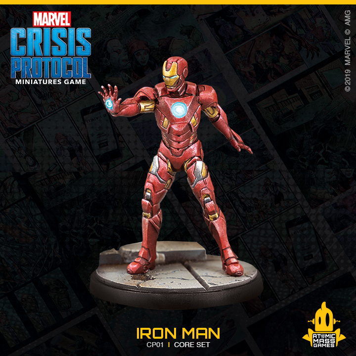 Iron Man - Atomic Mass Games