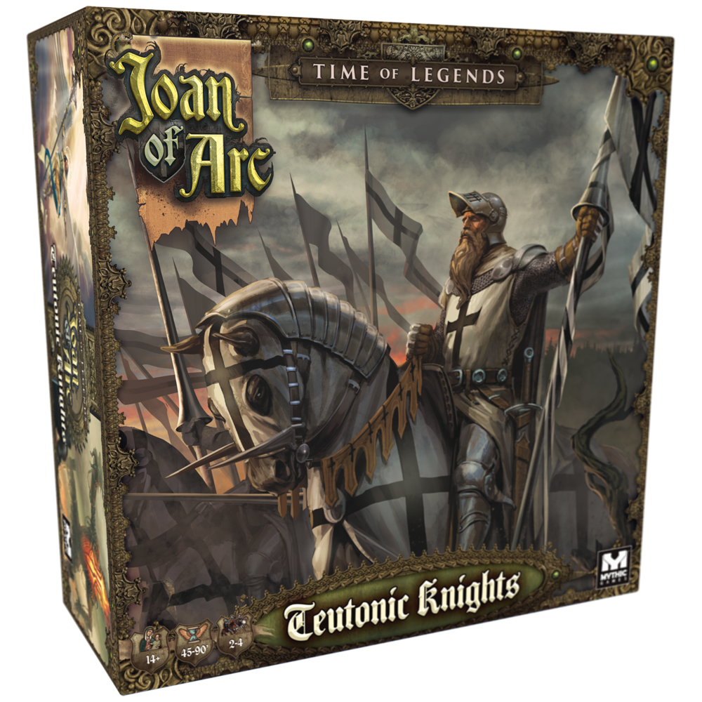Joan Of Arc Teutonic Knights - Mythic Games