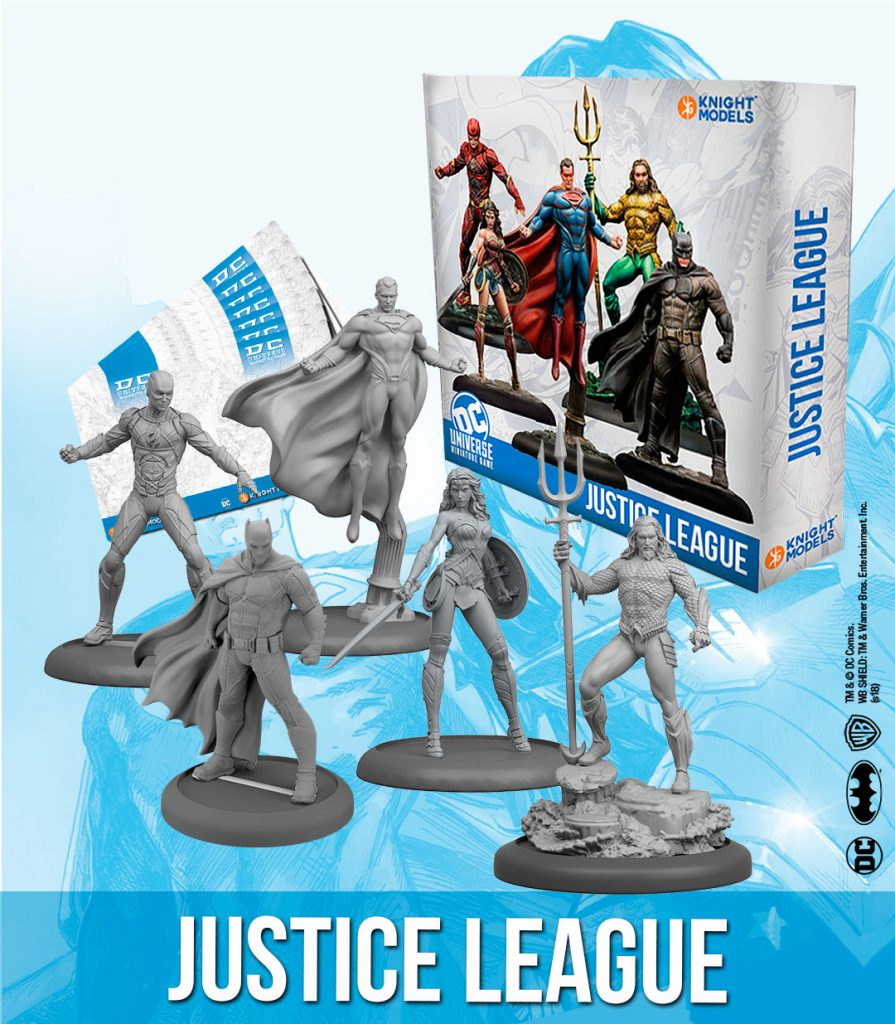 Justice League - Knight Models