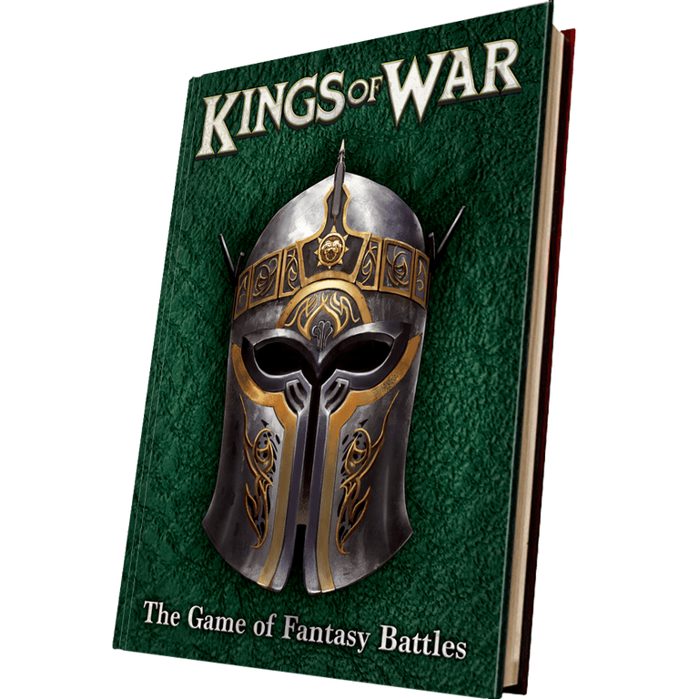 Kings Of War 3rd Edition Cover - Mantic Games