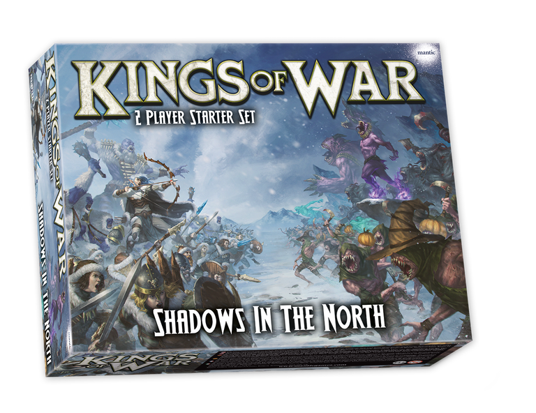 Kings Of War Shadows In The North - Mantic Games