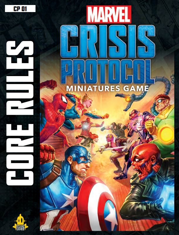 Marvel Crisis Protocol Rulebook - Atomic Mass Games