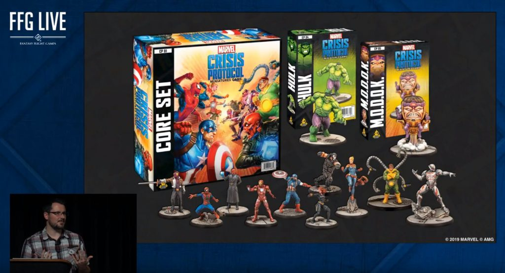 Marvel Crisis Protocol set - Atomic Mass Games