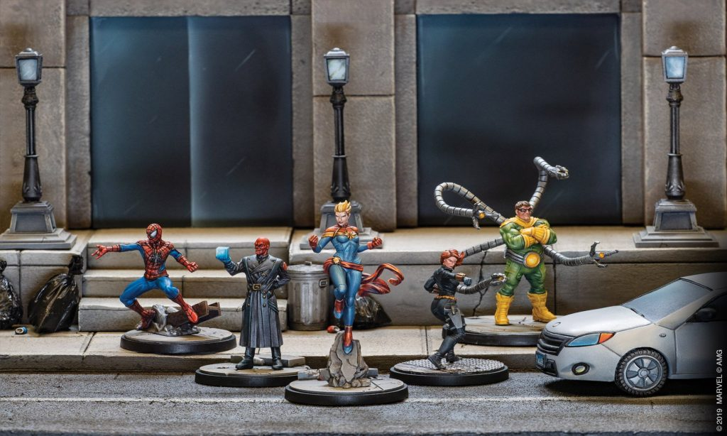Marvel Heroes & Villains - Atomic Mass Games