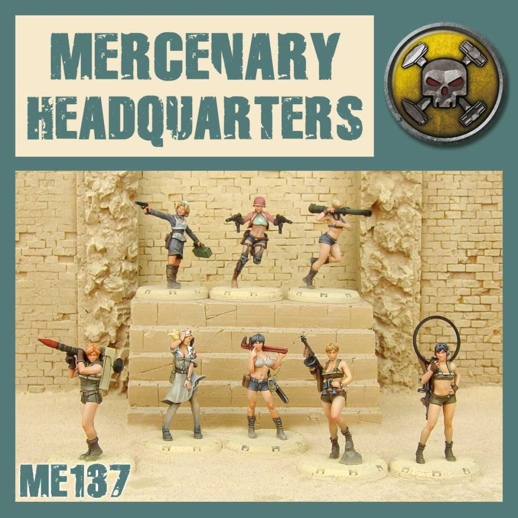 Mercenary Headquaters - DUST