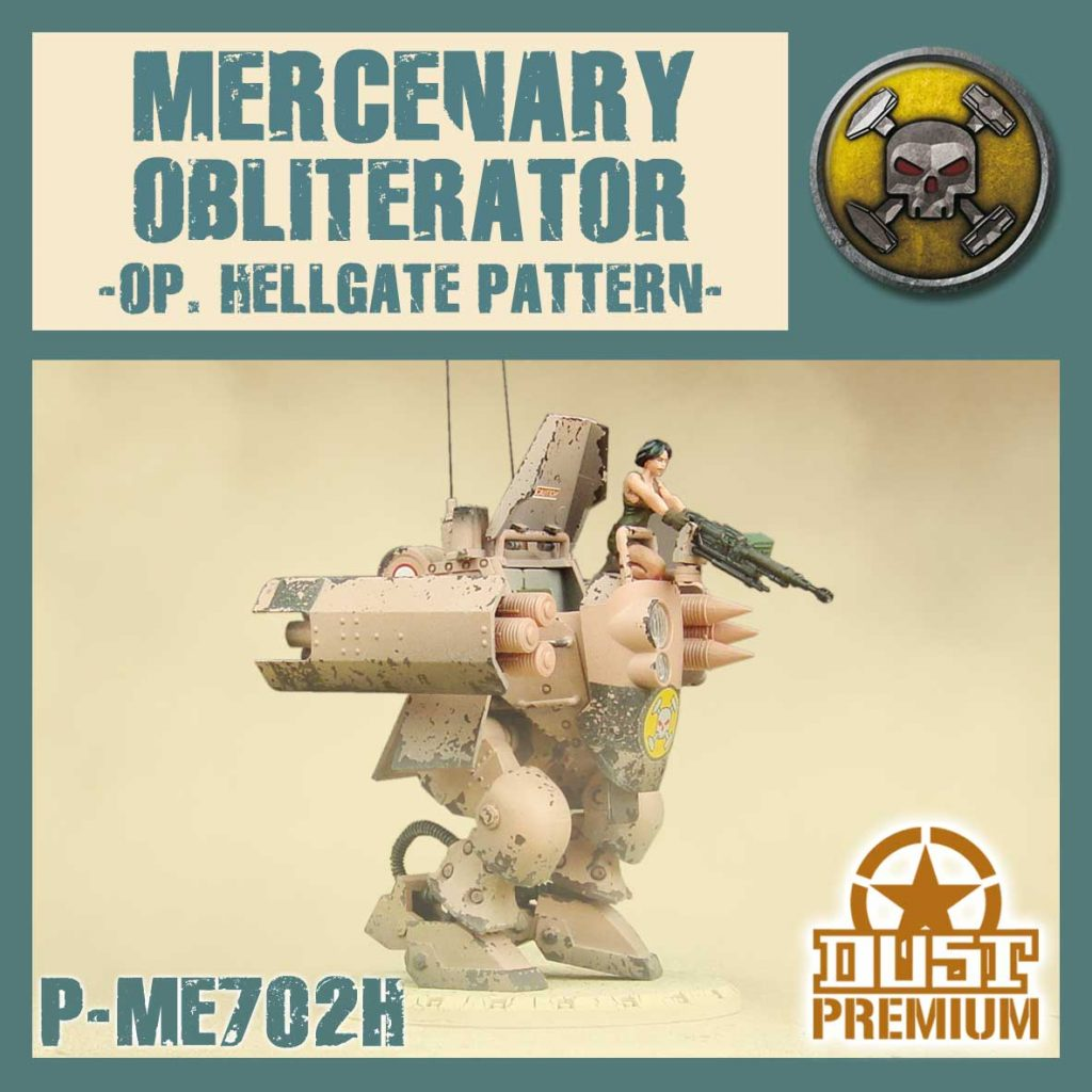 Mercenary Obliterator - DUST