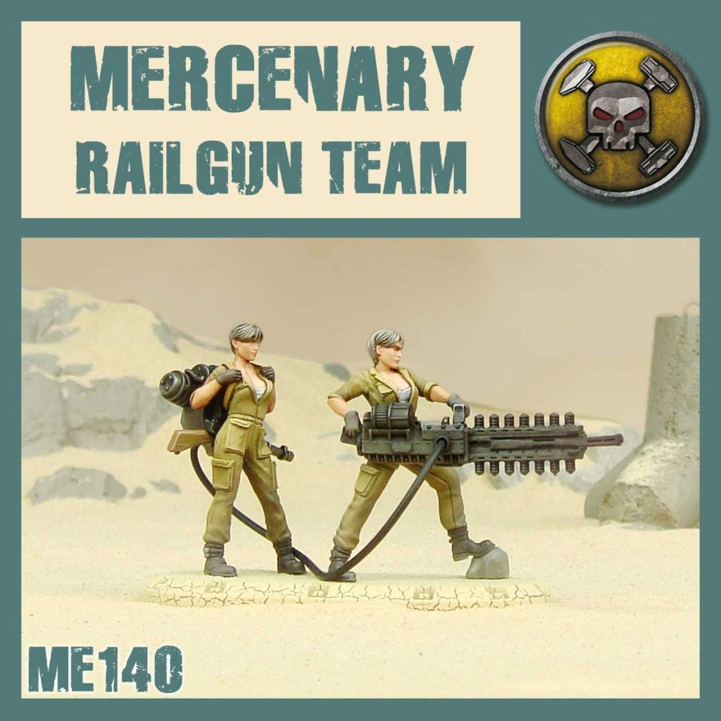 Mercenary Railgun Team - DUST