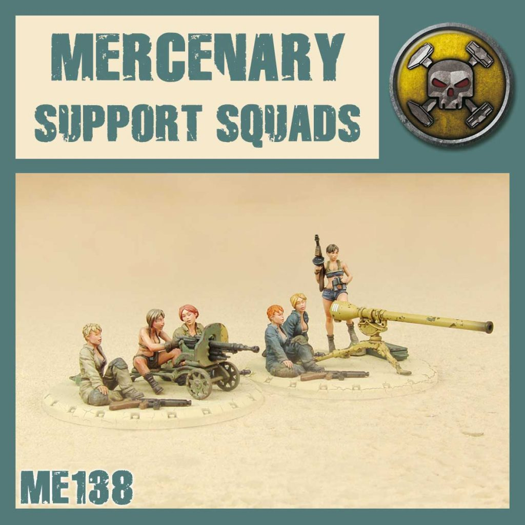 Mercenary Support Squads - DUST