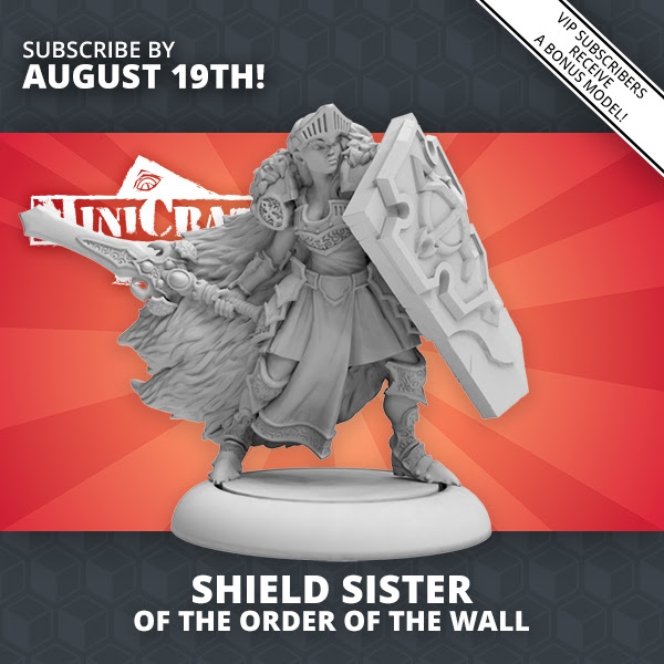 MiniCrate August #1 - Privateer Press