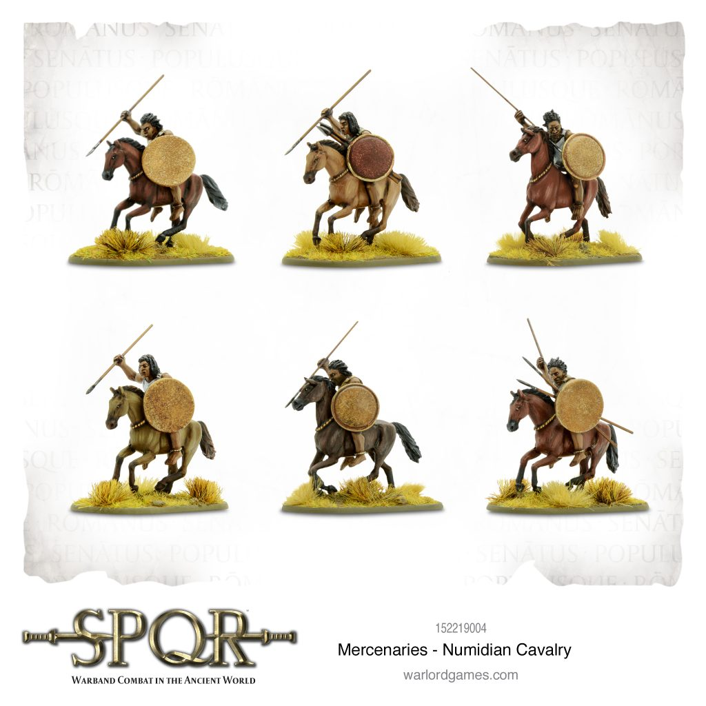 Numidian Cavalry - Warlord Games