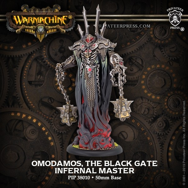Omodamos The Black Gate Infernal Master - Privateer Press