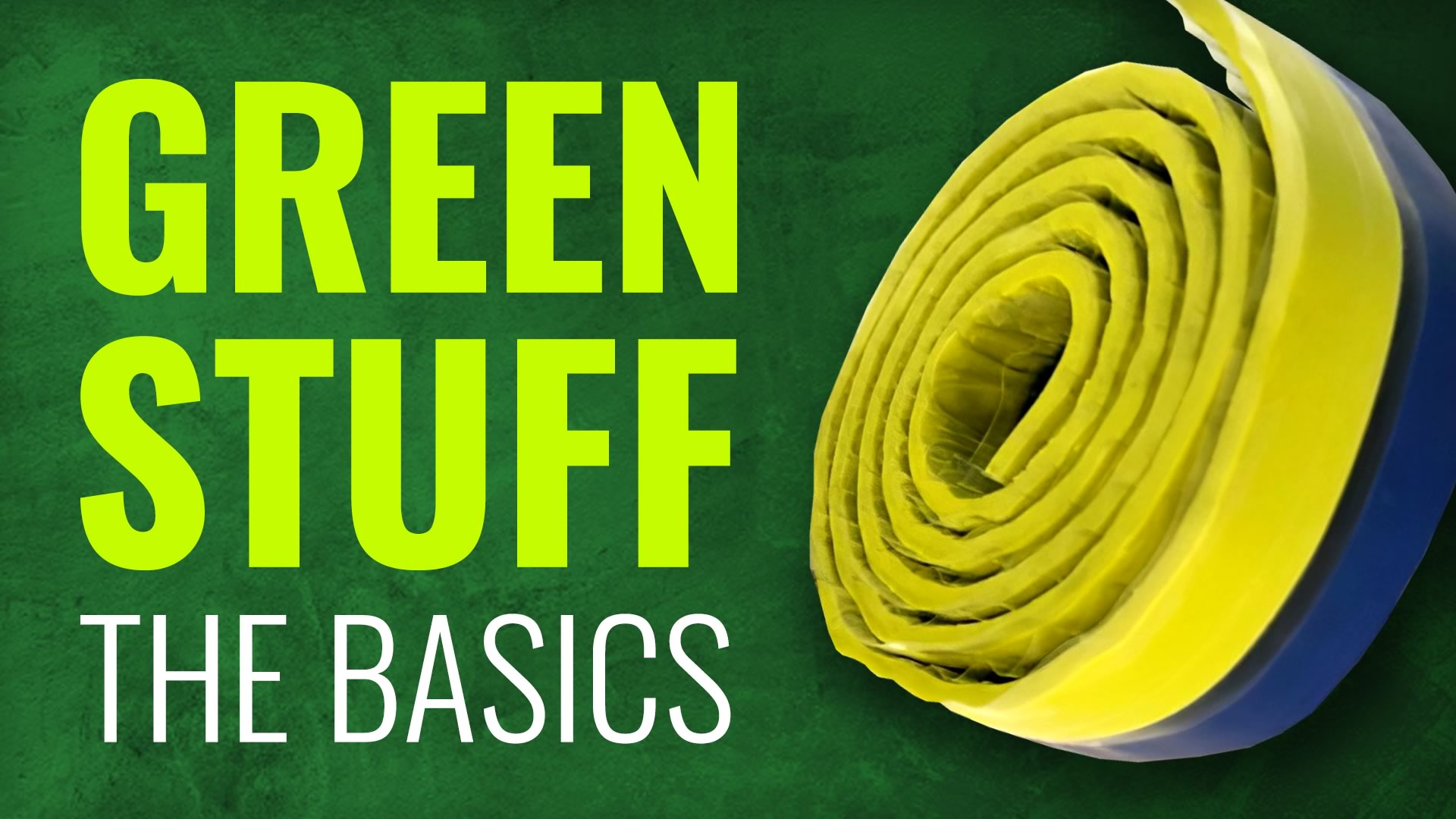 OnTableTop-Green-Stuff-Basics-Cover