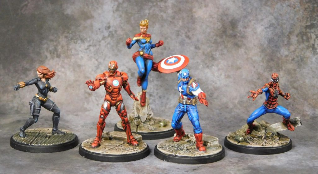 Painted Heroes - Atomic Mass Games