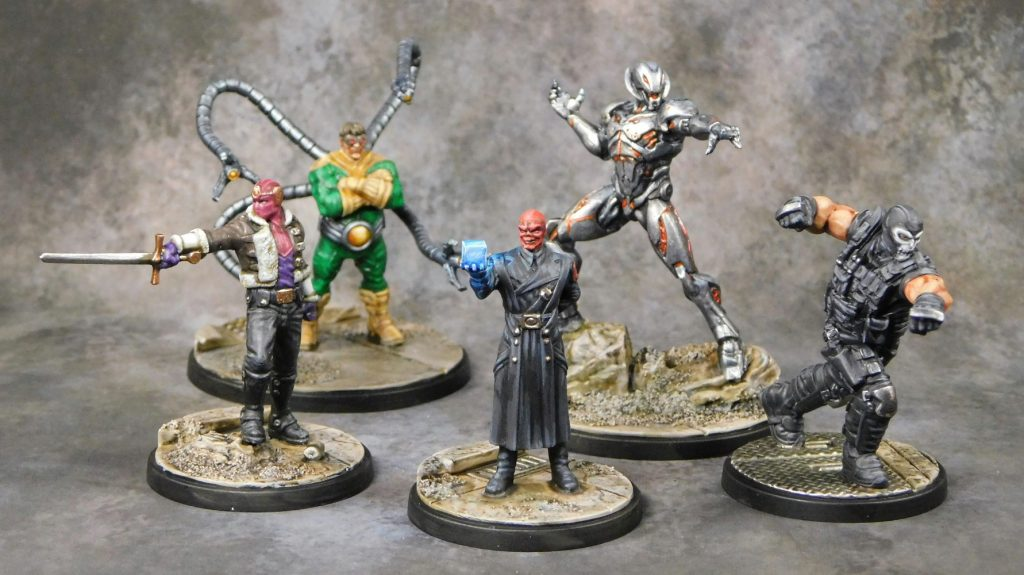 Painted Villains - Atomic Mass Games
