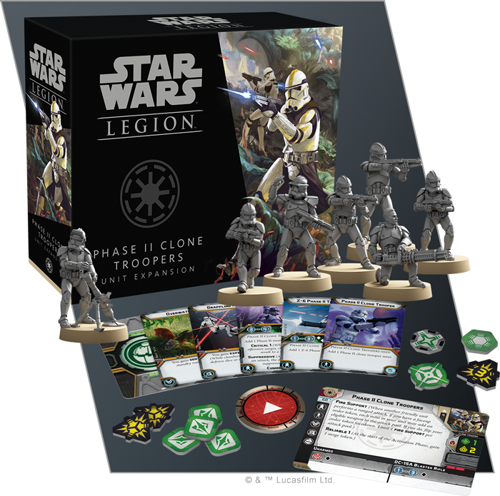 Phase II Clone Troopers - Fantasy Flight Games