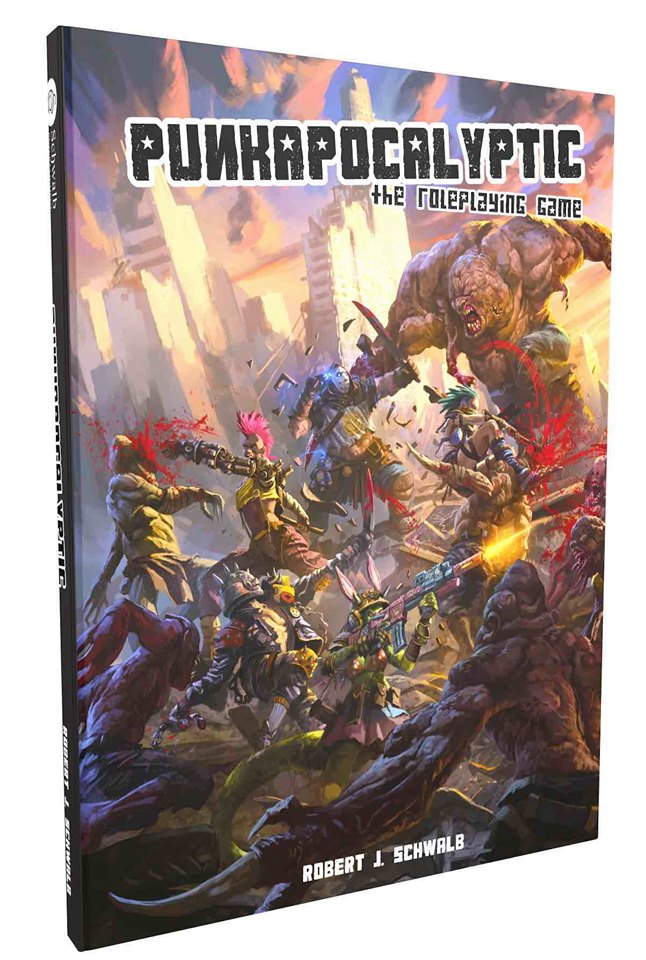 Punkapocalyptic RPG - Bad Roll Games