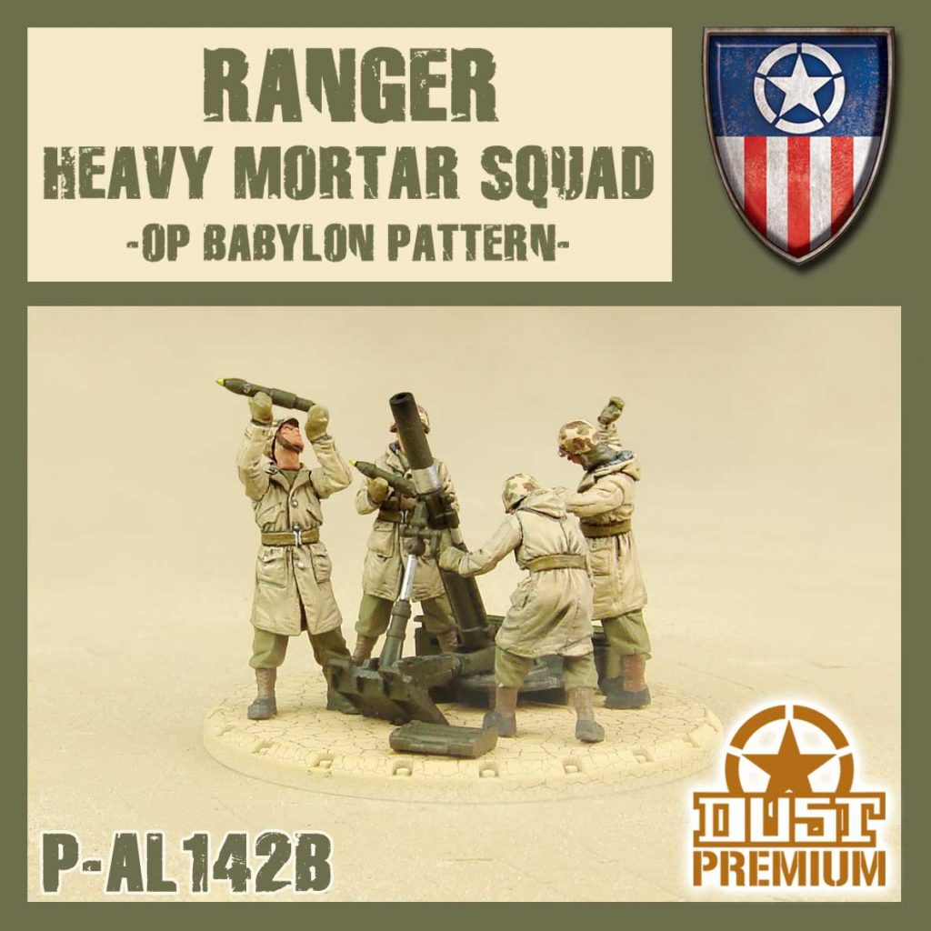 Rangers Heavy Mortar Squad - DUST
