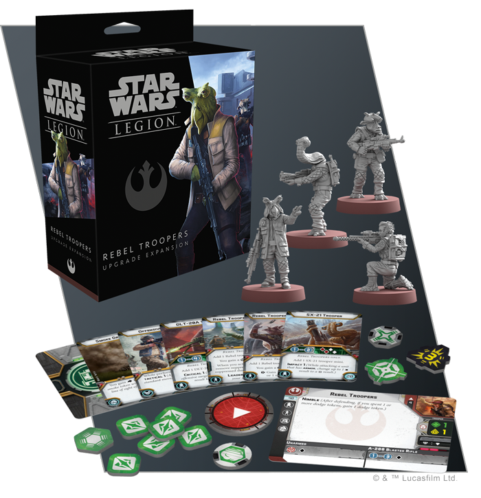 Rebel Troopers - FFG