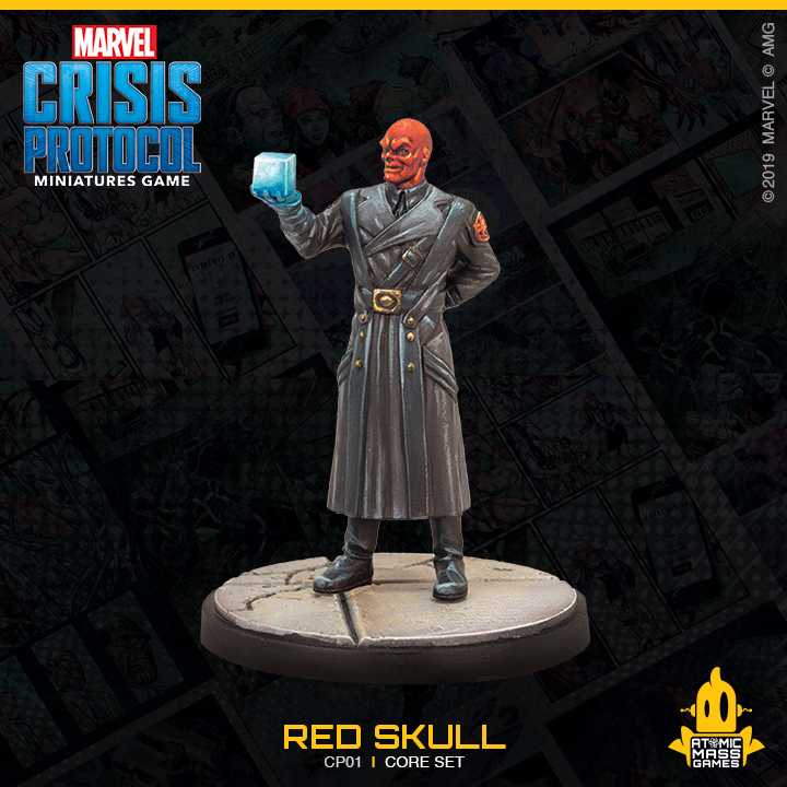 Red Skull Photo - Atomic Mass Games