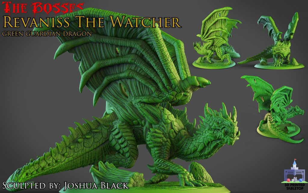 Revaniss The Watcher - 3D Printed Tabletop