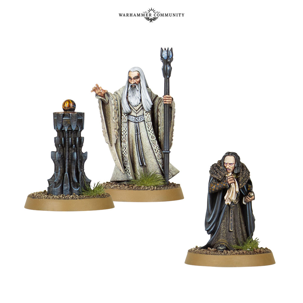 Saruman & Grima - Games Workshop