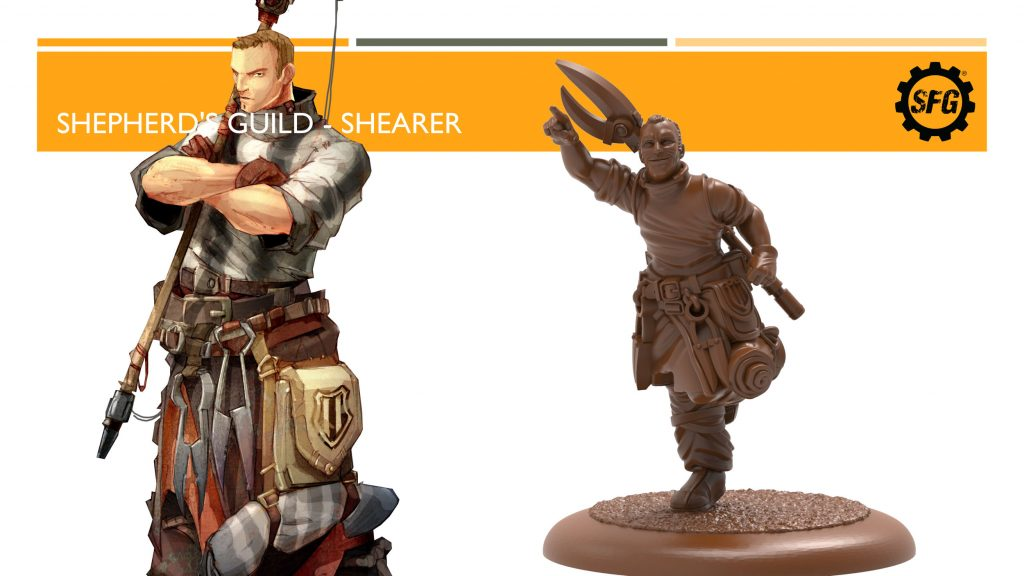 Shepherds Guild Shearer - Steamforged Games