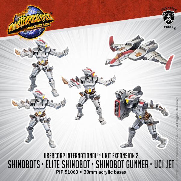 Shinobots & UCI Jet - Privateer Press