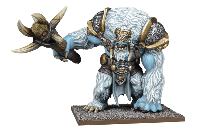 Snow Troll Prime - Mantic Games