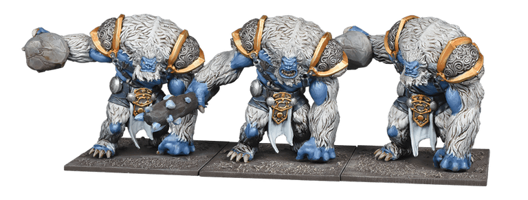 Snow Trolls - Mantic Games
