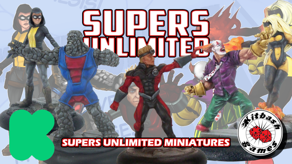 Supers Unlimited - Kitbash Games