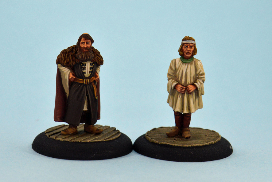The Swamp Lord & Son - Studio Miniatures