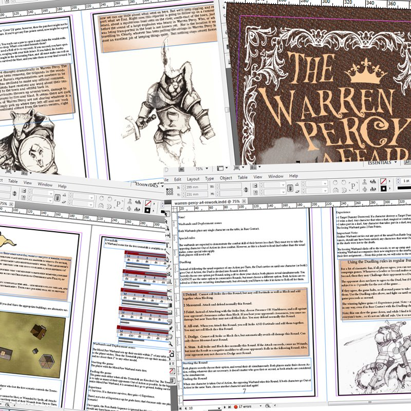 The Warren Percy Affair - Oathsworn Miniatures