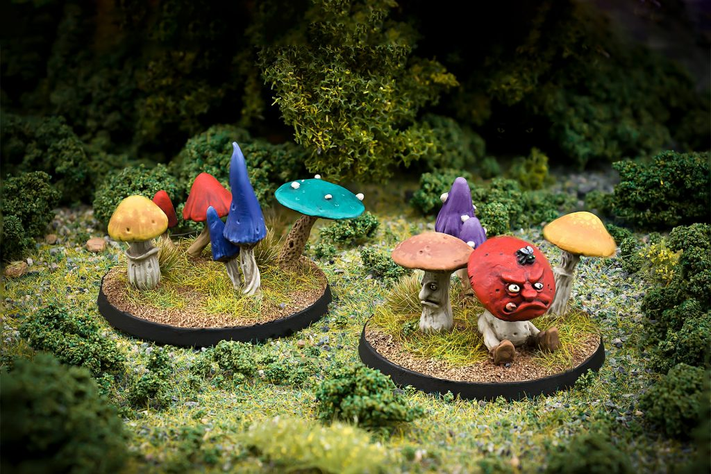 Toadshrooms - Northumbrian Tin Soldier