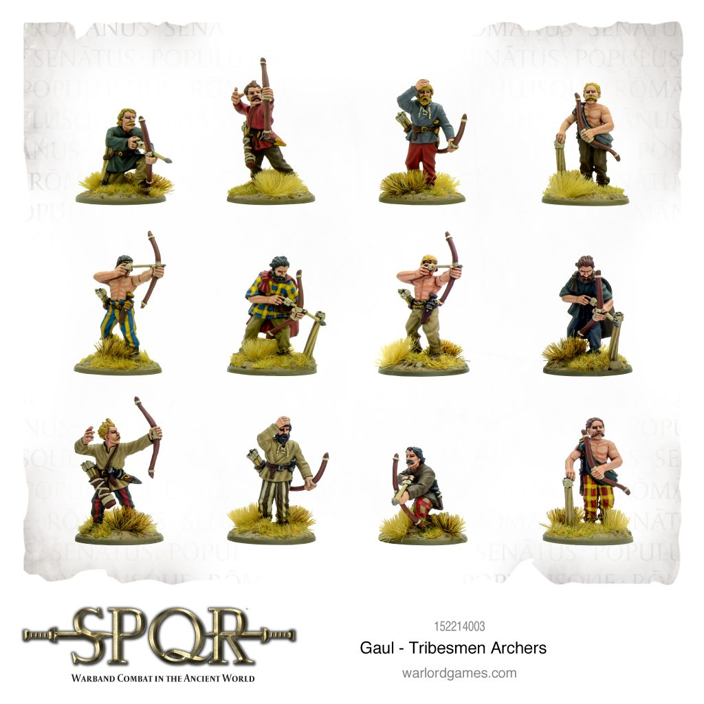 Tribesmen Archers - Warlord Games