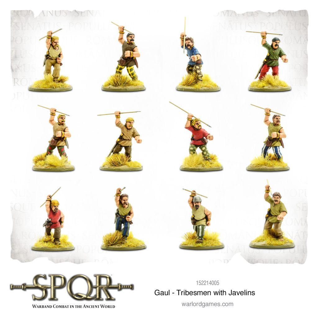 Tribesmen With Javelins - Warlord Games