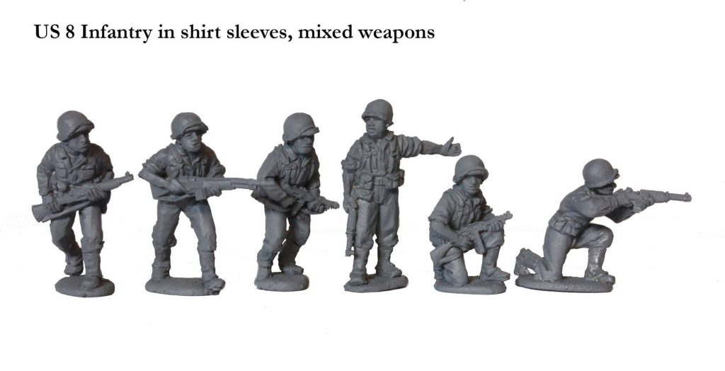 US Infantry in shirt sleeves -Perry Miniatures