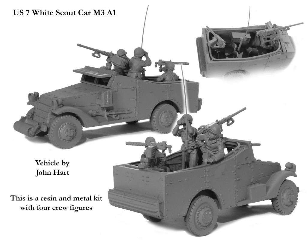 US White Scout Car M3 A1 - Perry Miniatures