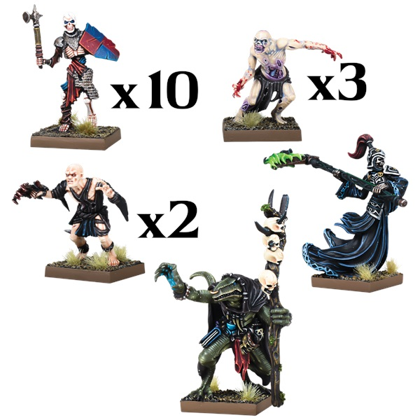 Undead Warband - Mantic Games