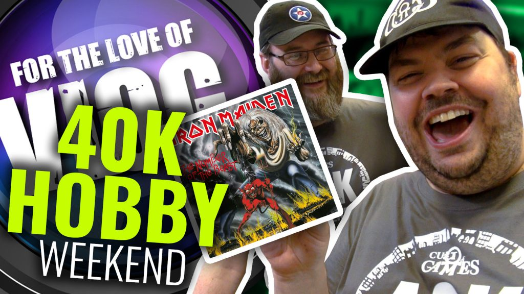 Vlog: Warhammer 40k Hobby Weekend Launches!