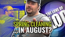 Vlog: Spring Cleaning… In August?