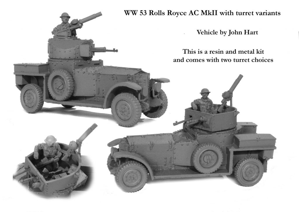 WW 53 Rolls Royace AC MkII - Perry Miniatures