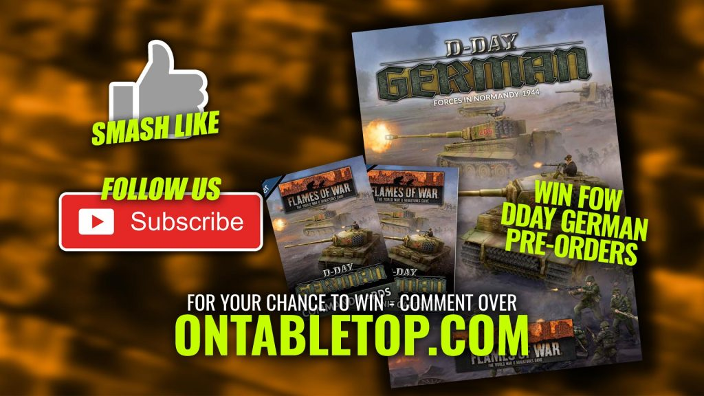 Weekender: Infinity Campaign Announced & Win A FoW German D-Day Bundle!