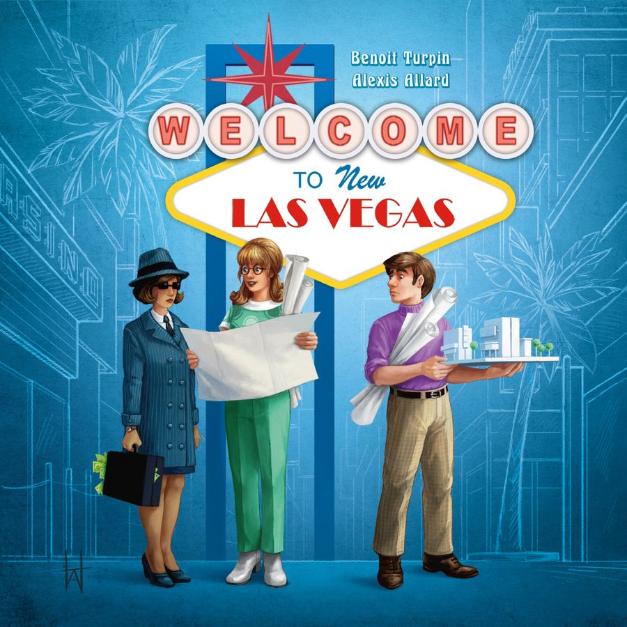 Welcome To New Las Vegas - Blue Cocker Games