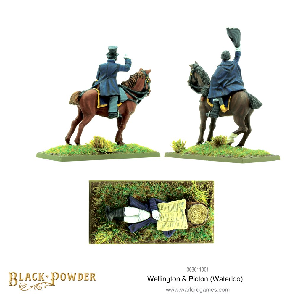 Wellington & Picton Alt - Warlord Games